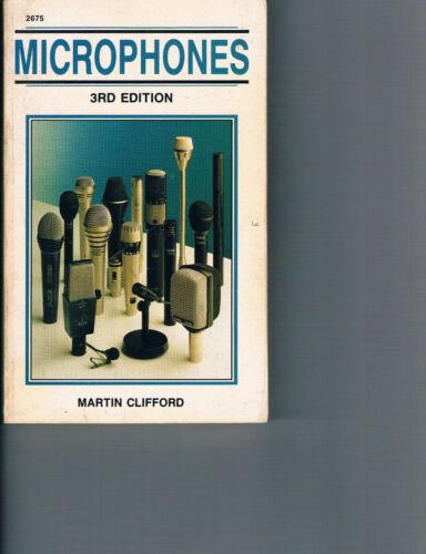 Microphones book Martin Clifford rare Sound studio recording techniques books