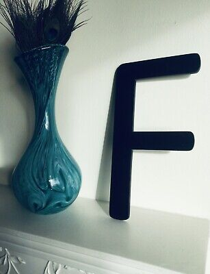 Vintage Letter 'F' Shop Salvaged Reclaimed Advertising Sign