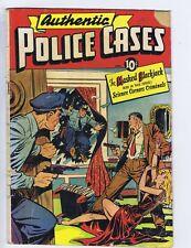 Authentic Police Cases #7 St.John 1950  BAKER COVER/ART