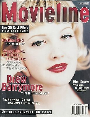 Movieline Magazine Drew Barrymore Mimi Rogers Women In Hollywood Issue