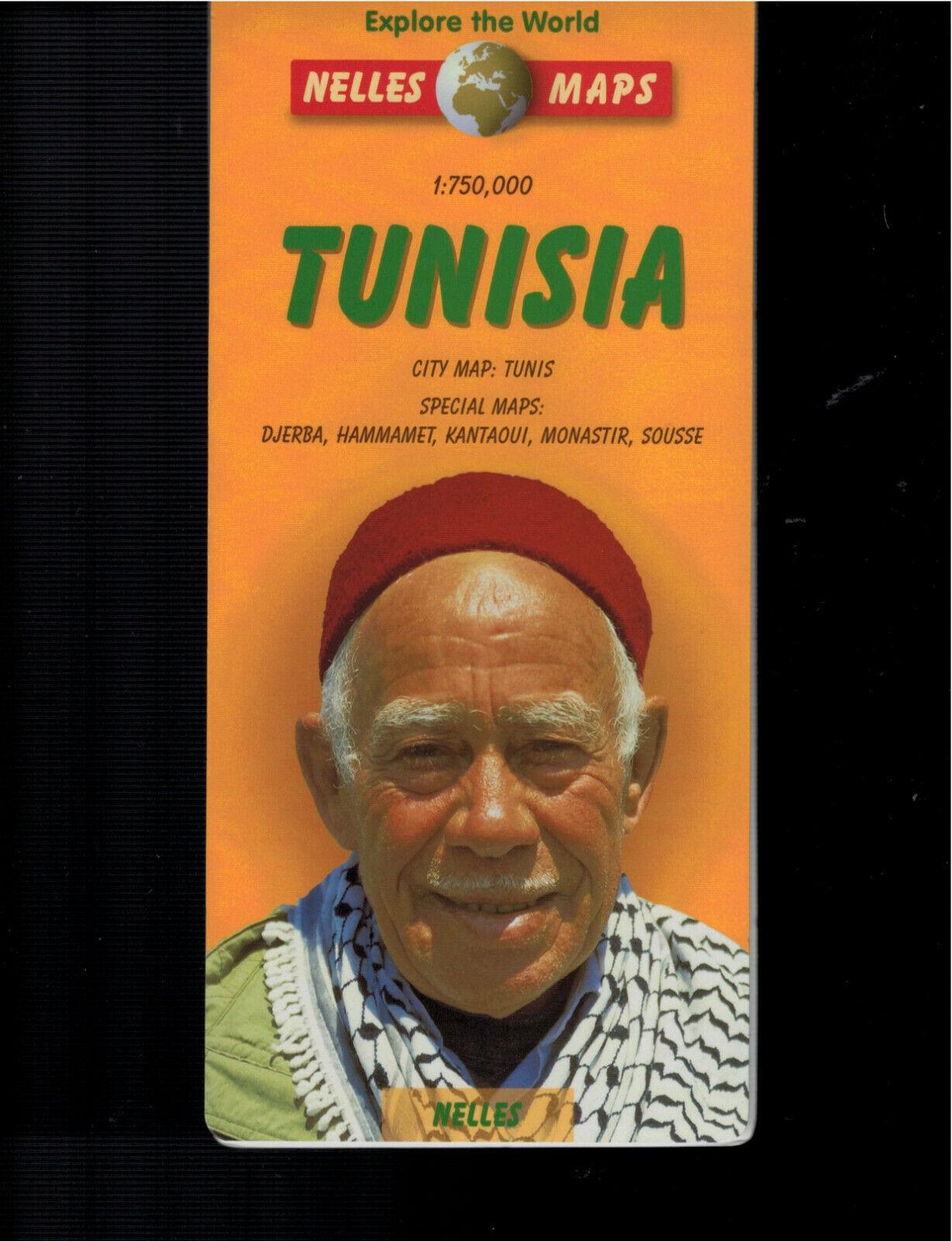 TUNISIA NELLES MAPS - $3.00