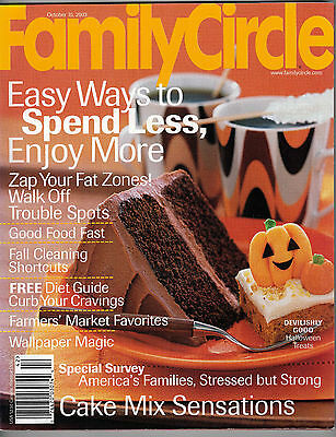 Family Circle 2003 Halloween Wallpaper Cake Mix Recipes Garden Paths Market Fare](Family Circle Magazine Halloween Recipes)