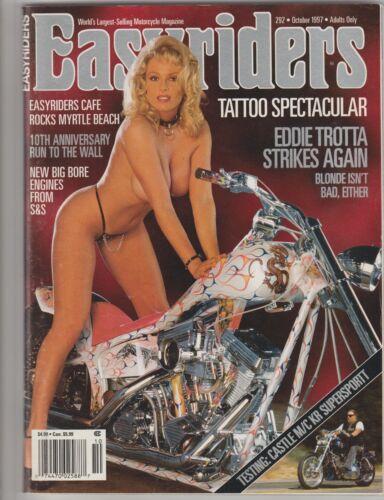 Easyriders Magazine~October 1997~# 292