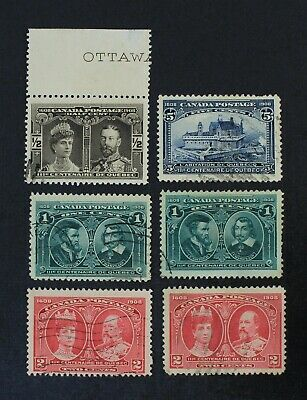 CKStamps: Canada Stamps Collection Scott#96-99 Used 4 Spot Thins
