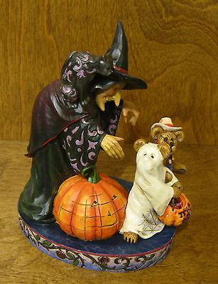 Boyds Jim Shore Bearstone #4016472 ELSA WITCHINGTON & SALEM.... Halloween NIB