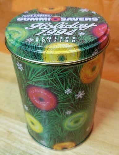 Vintage Life Savers Gummi Savers Limited Edition Holiday Tin 1994