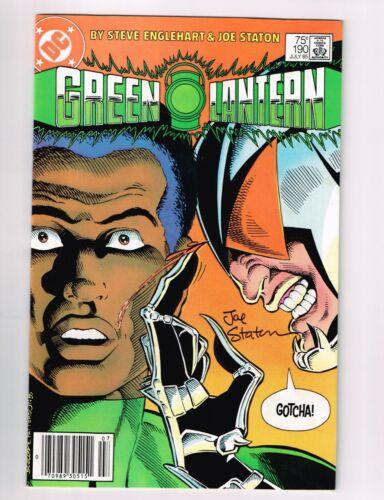 Green Lantern Vol 1 - 190 - Signed by Joe Staton