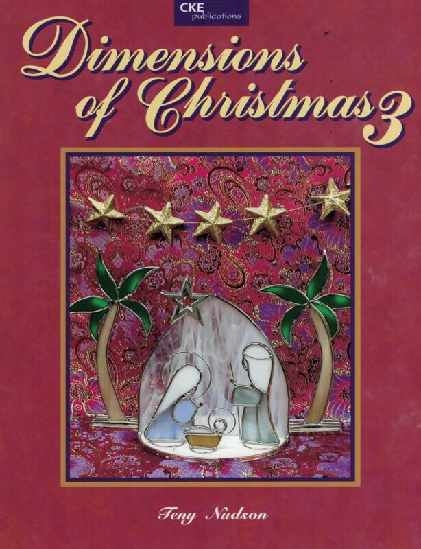 Carolyn Kyle Dimensions of Christmas 3 III Nativity Sets by Teny Nudson