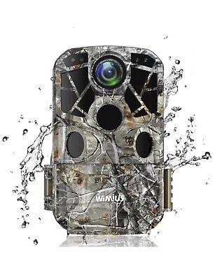 WiMiU Fotocamera da Caccia, Trail Camera 24MP 1296P IP66 Impermeabile
