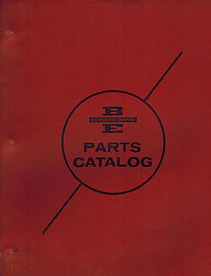 Bucyrus Erie Vintage 30-b Crawler Transit Machines Parts Manual 1964