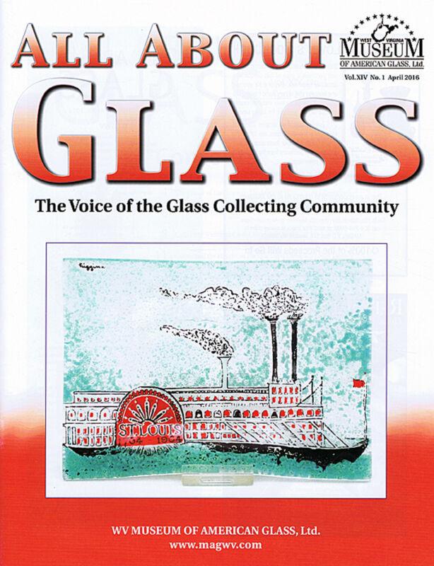 All About Glass 14-1: Bohemian Welz-Victorian Castors-Dearborn-US Glass-Henke
