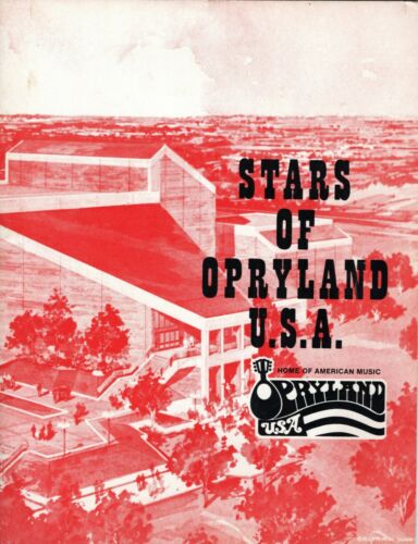 KITTY WELLS & BOBBY WRIGHT SIGNED STARS OF OPRYLAND U.S.A. BOOK-1973 AUTOGRAPHS