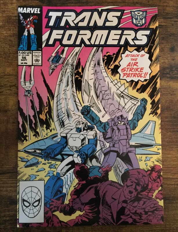 Transformers #54 Marvel