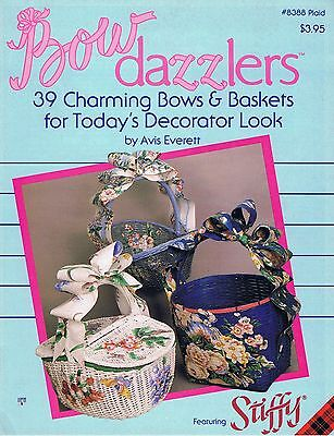 Bow Dazzlers 39 Charming Bows & Baskets for Todays Decorator Look Plaid 8388