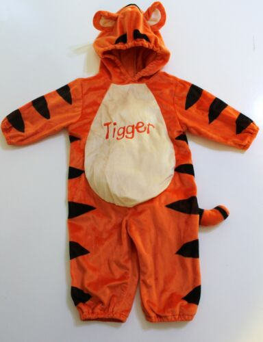 Disney Baby Tigger Halloween Costume Size 12 Months Plush Orange