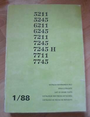 Zetor Traktoren 5211 5245 6211 6245 7211 7245 7711 7745 Ersatzteilkatalog na sprzedaż  Wysyłka do Poland