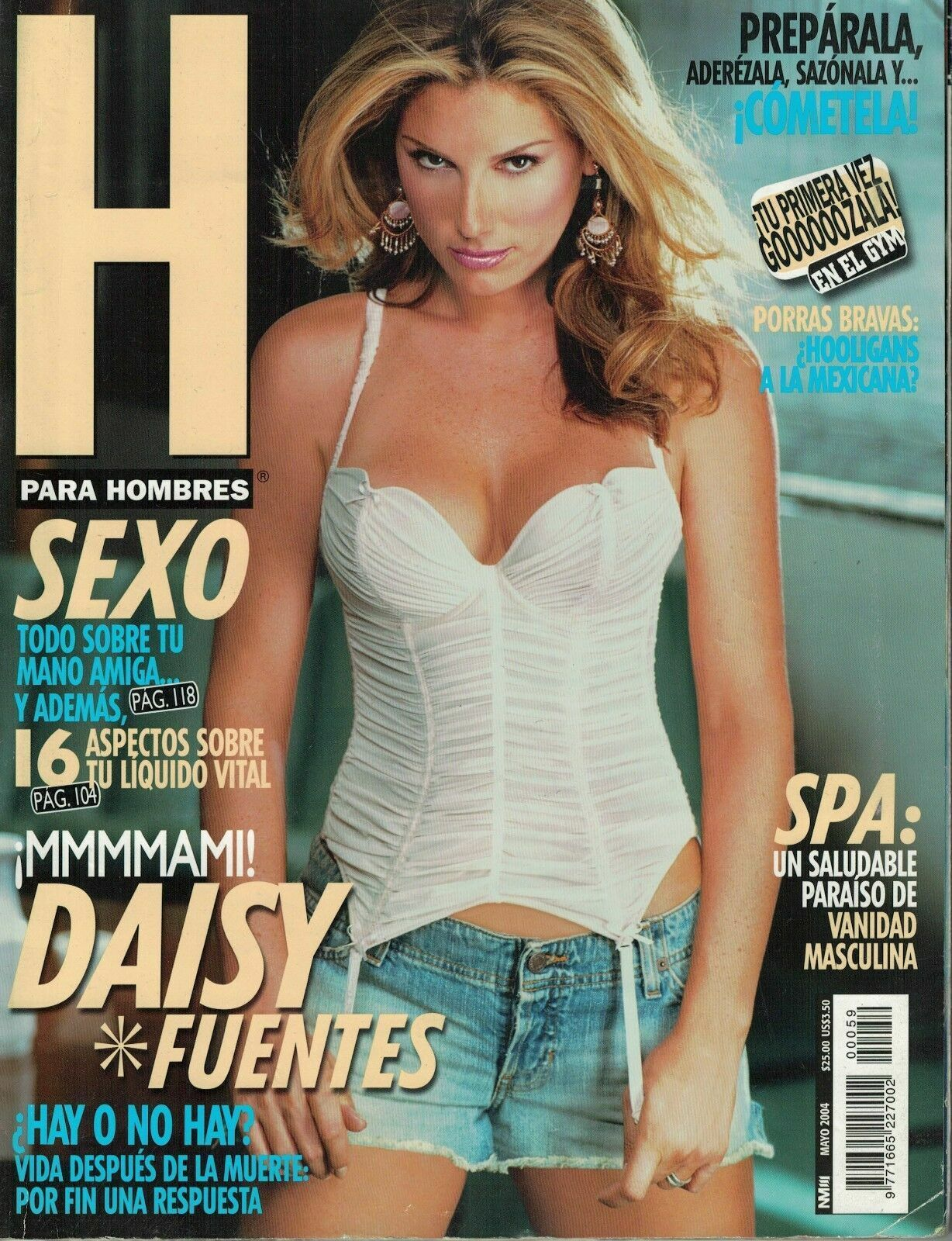 Anette Michel H gloria trevi h para hombres magazine november 2004