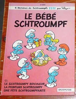 Les Schtroumpfs : Le bébé Schtroumpf 1984