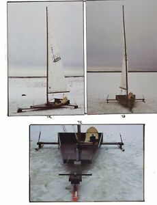 Iceboat manual and blades