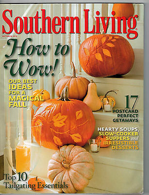 Southern Living 2010 Halloween Decorating with Pumpkins Soups Apple Cake Recipes](Halloween Recipe Cakes)