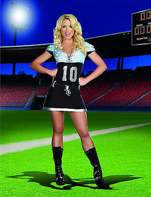 Sexy Adult Halloween Women's Sack Me Light-Up Football Player Costume - Halloween Costume Football Player Woman