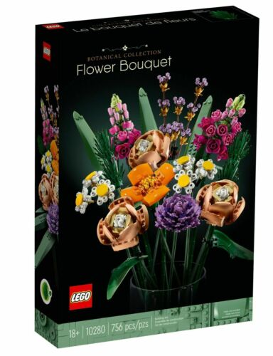LEGO 10280 Flower Bouquet SEALED AND FREE SHIPPING