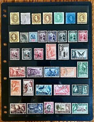 Sarawak Collection 1869-1957 MH/Used
