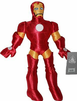 Plush Iron Man Marvel Disney Store Marvel Avengers Red Suit USA Seller (Iron Batman Suit)