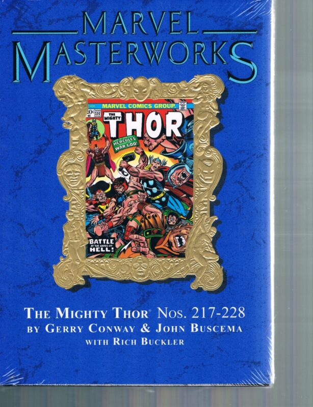 Marvel Masterworks Vol 213 Mighty Thor by Conway & Buscema HC Limited to 840