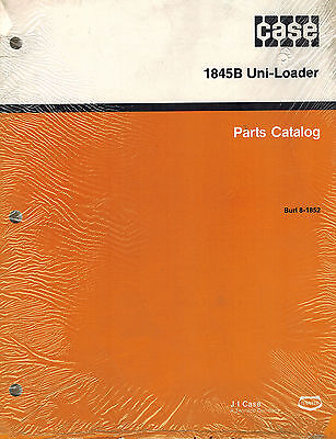 Case 1845b Skid Steer Parts Manual 8-1852 New