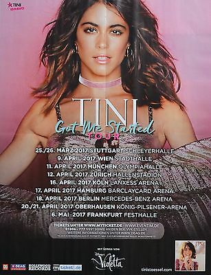 MARTINA STOESSEL - A2 Poster (XL - 42 x 55 cm) - Tini Clippings Fan Sammlung NEU