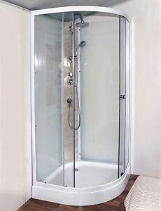 NEW SHOWER SCREEN ENCLOSURE BATHROOM CUBICLE 900 x 900 x 2150mm Braeside Kingston Area Preview
