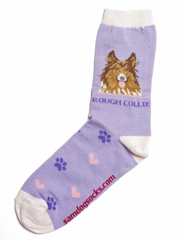Rough Collie Dog Socks