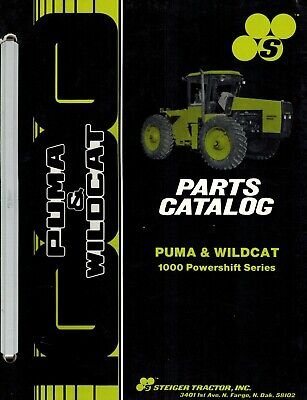 Steiger Puma Wildcat 1000 Powershift Series Tractors Parts Manual