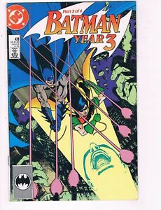 DC Comics Batman Year 3 Part 3 of 4 #438- 1989