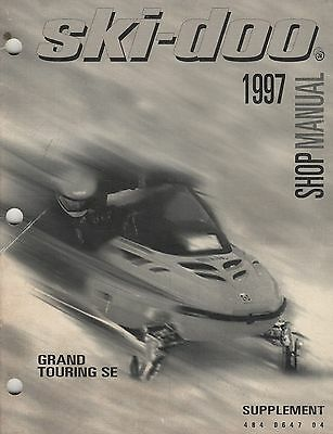 1997 SKI-DOO SNOWMOBILE GRAND TOURING  SHOP SUPPLEMENT MANUAL 484 0647 04 (558)