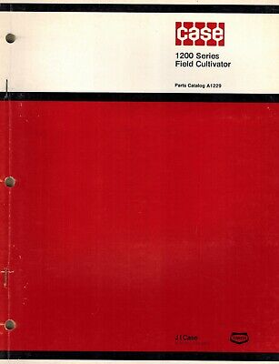 Case Vintage 1200 Series Field Cultivator Parts Manual A1229