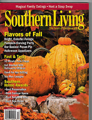 Southern Living 2007 Halloween Pumpkins Recipes Crotons Fall Foliage Home Awards - Halloween Pumpkin Recipes