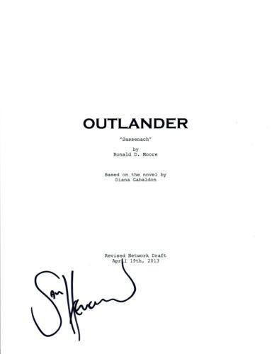 Sam Heughan Signed Autographed OUTLANDER Pilot Script COA