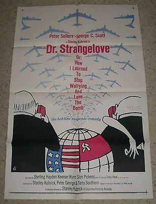 """""""DR. STRANGELOVE"""" 64, 1SH ORIGINAL Poster, * MINT*"""