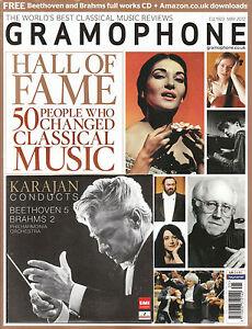 GRAMOPHONE MAGAZINE May 2012 + CD KARAJAN CONDUCTS BEETHOVEN 5 & BRAHMS 2 @New@