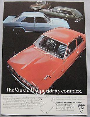 1970 Vauxhall range Original advert
