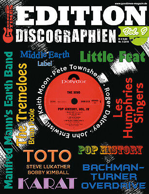 GoodTimes Discographien Vol. 9 - u.a. Les Humphries Singers Little Feat Karat