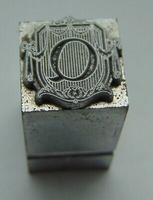 Vintage Printing Letterpress Printers Block Advertising Type Letter Q