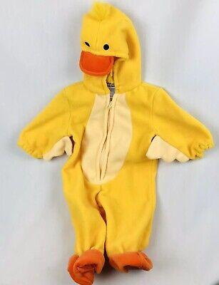 Miniwear Spring Yellow Duck Duckling Easter Halloween Baby Unisex Costume 3-6m S