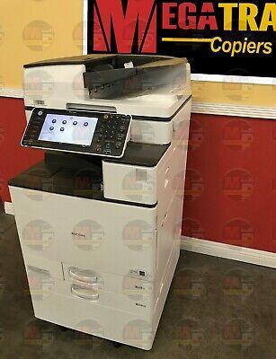 Ricoh Aficio Mp C5503 Color A3 Laser Multifunction Printer Copier Scanner 55 Ppm