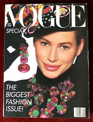 Vogue Magazine ~ September 1988 ~ Carre Otis by Richard Avedon Jennifer Grey