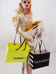 More faux haute couture shopping bag for your fr barbie for Haute couture shopping