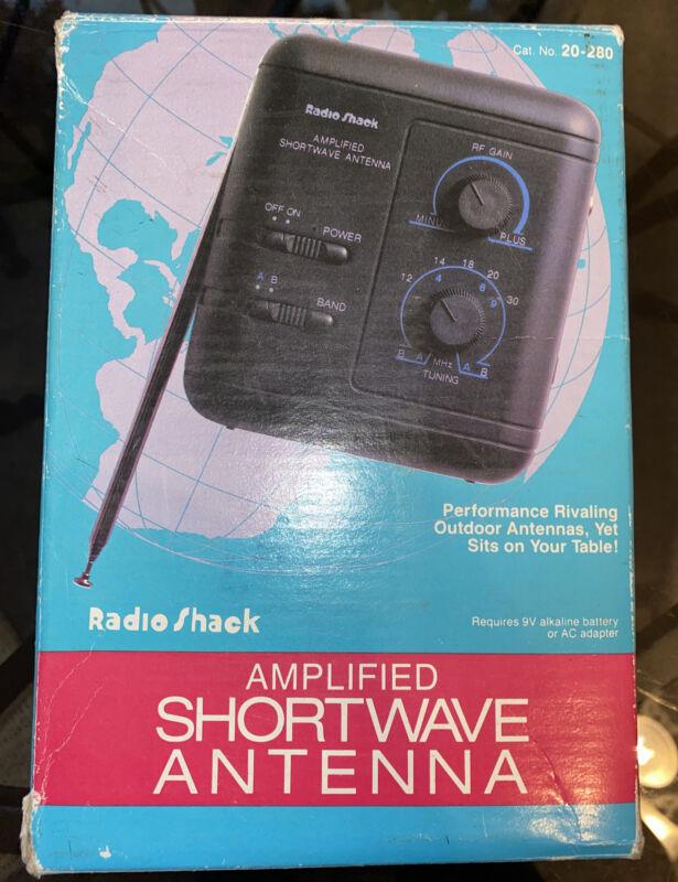 Realistic Amplified Shortwave Antenna 20-280 Radio Shack