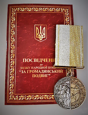 Original Orden UdSSR Tschernobyl Medaille Russland Urkunde!